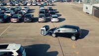 This robot can park your car for you